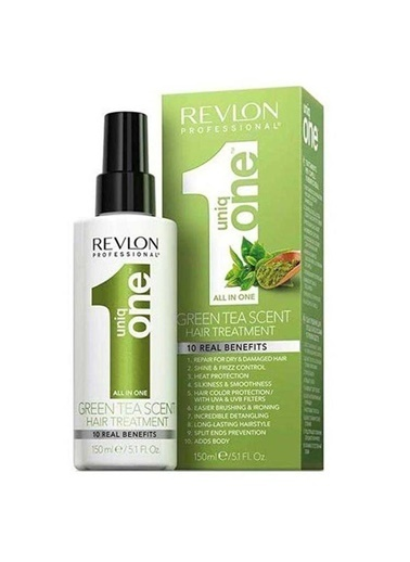 Revlon Revlon Uniq One Green Tea Hair Treatment 150 Ml Renksiz